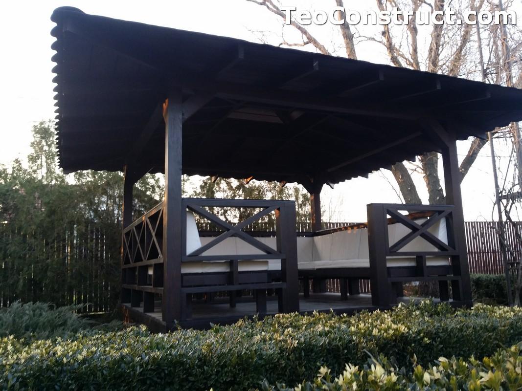 Foisoare de gradina din lemn Pitesti28