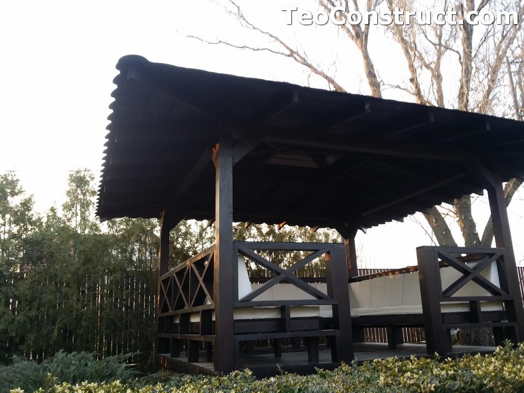 Foisoare de gradina din lemn Pitesti32