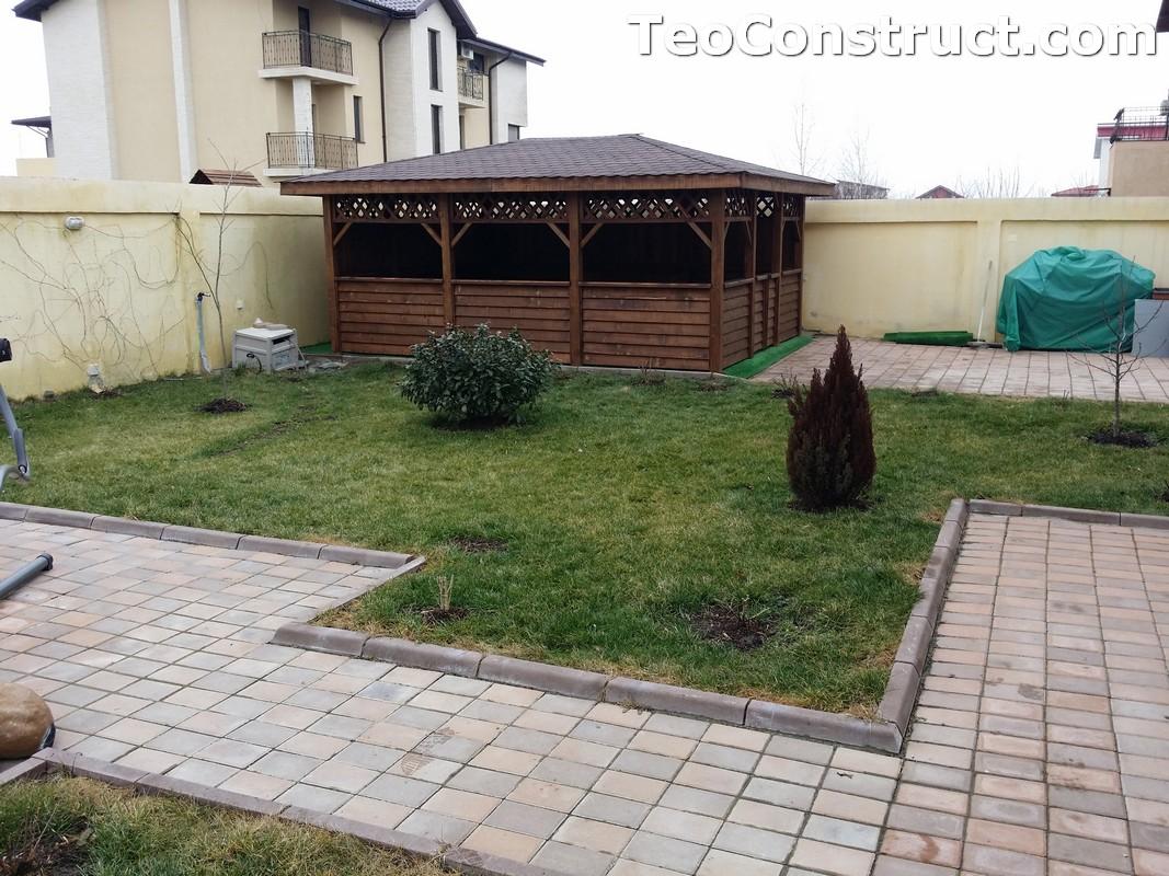 Foisoare din lemn hexagonale Bucuresti18