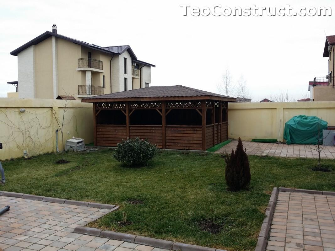 Foisoare din lemn hexagonale Bucuresti19
