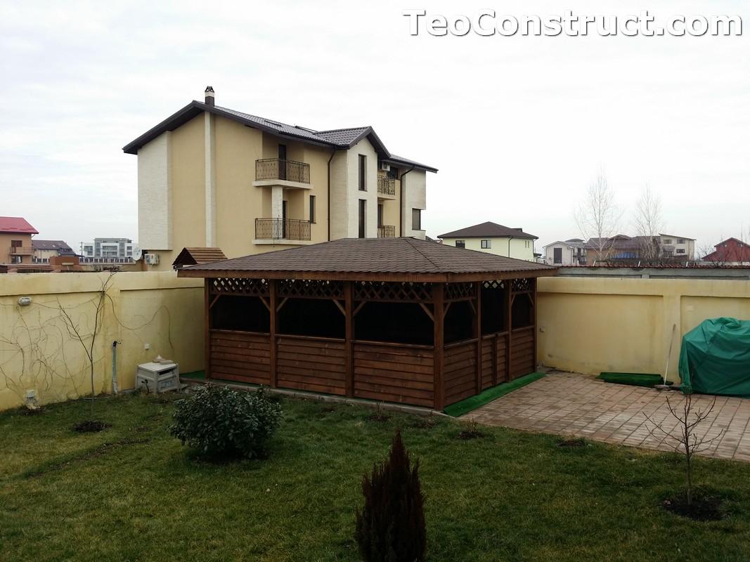 Foisoare din lemn hexagonale Bucuresti20
