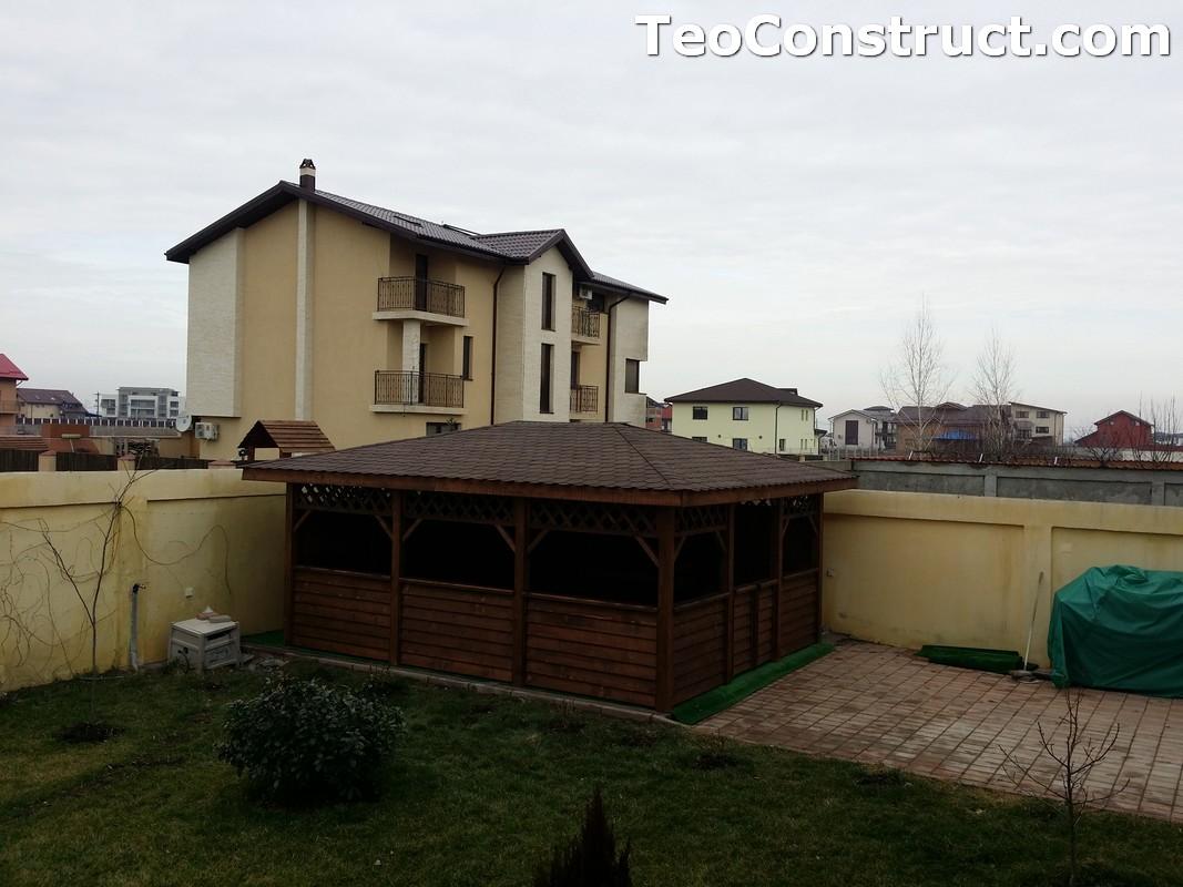 Foisoare din lemn hexagonale Bucuresti23