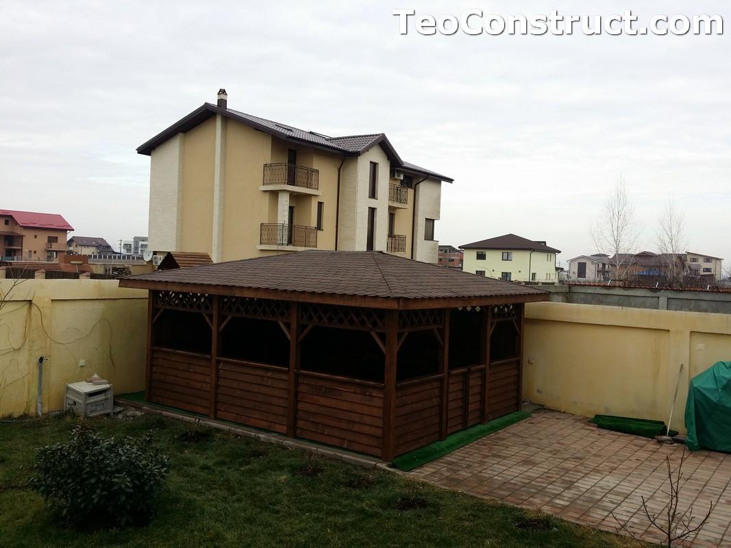 Foisoare din lemn hexagonale Bucuresti25