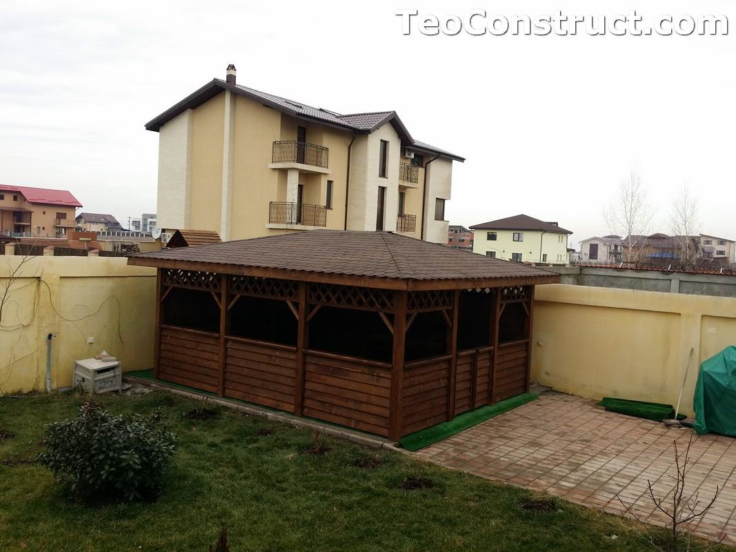 Foisoare din lemn hexagonale Bucuresti26