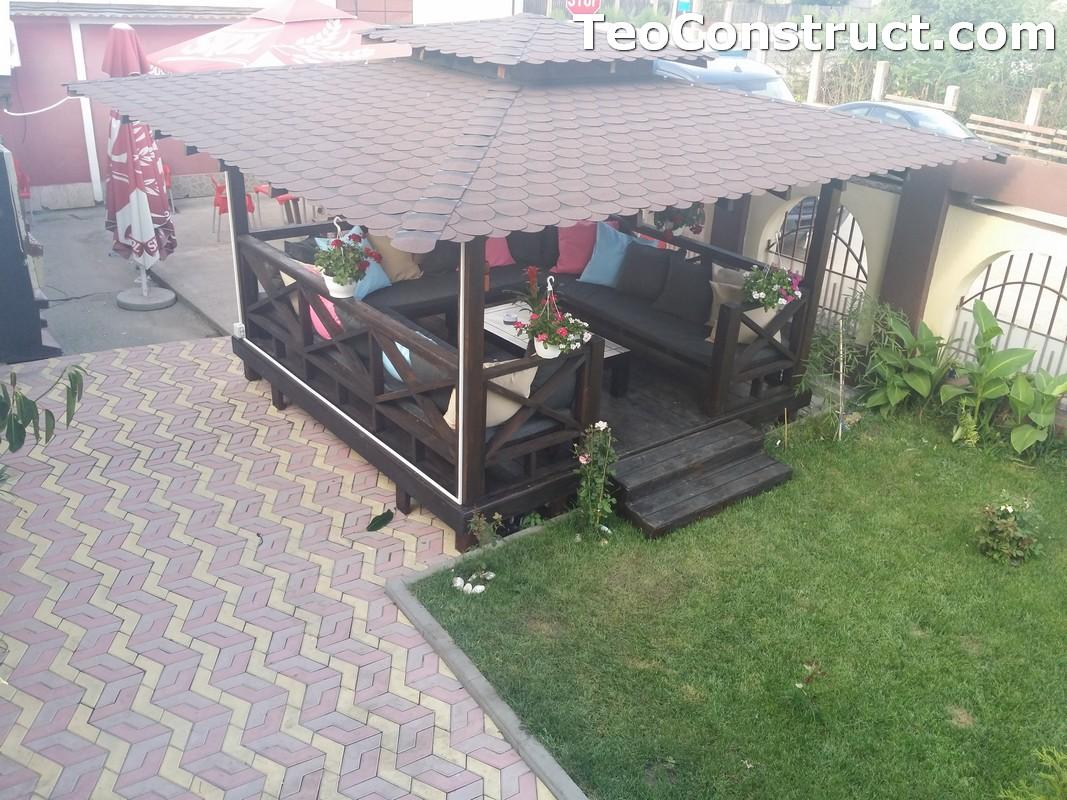 Foisoare din lemn hexagonale Buzau15