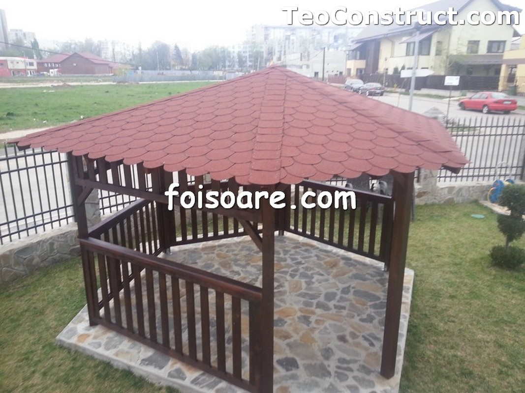 Foisoare din lemn hexagonale Constanta11