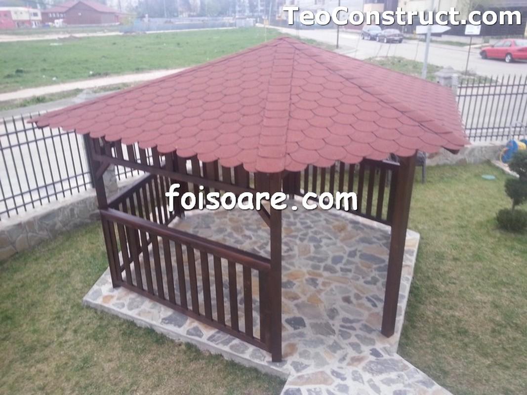 Foisoare din lemn hexagonale Constanta12