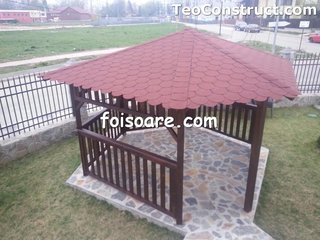 Foisoare din lemn hexagonale Constanta13