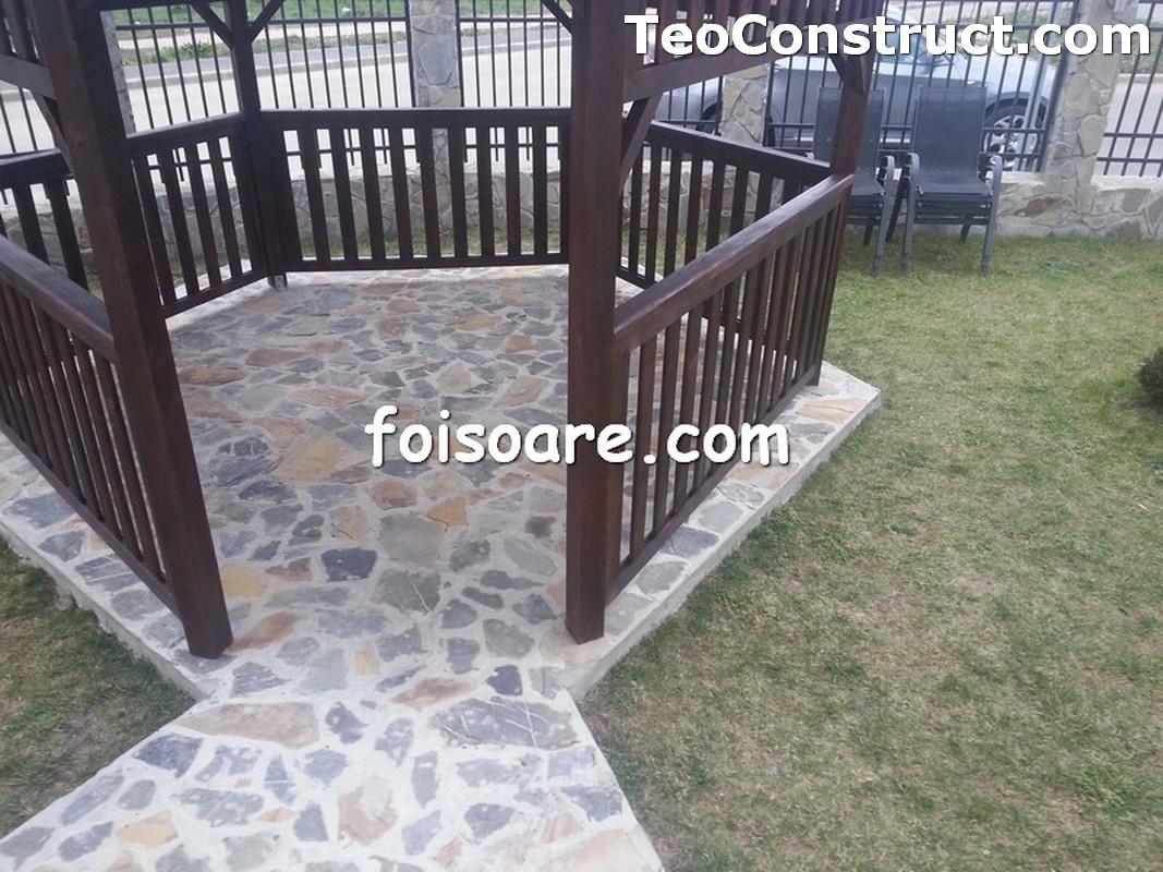 Foisoare din lemn hexagonale Constanta15