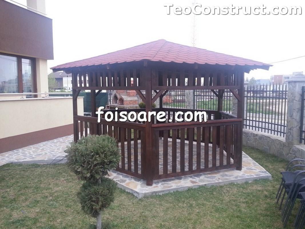 Foisoare din lemn hexagonale Constanta3