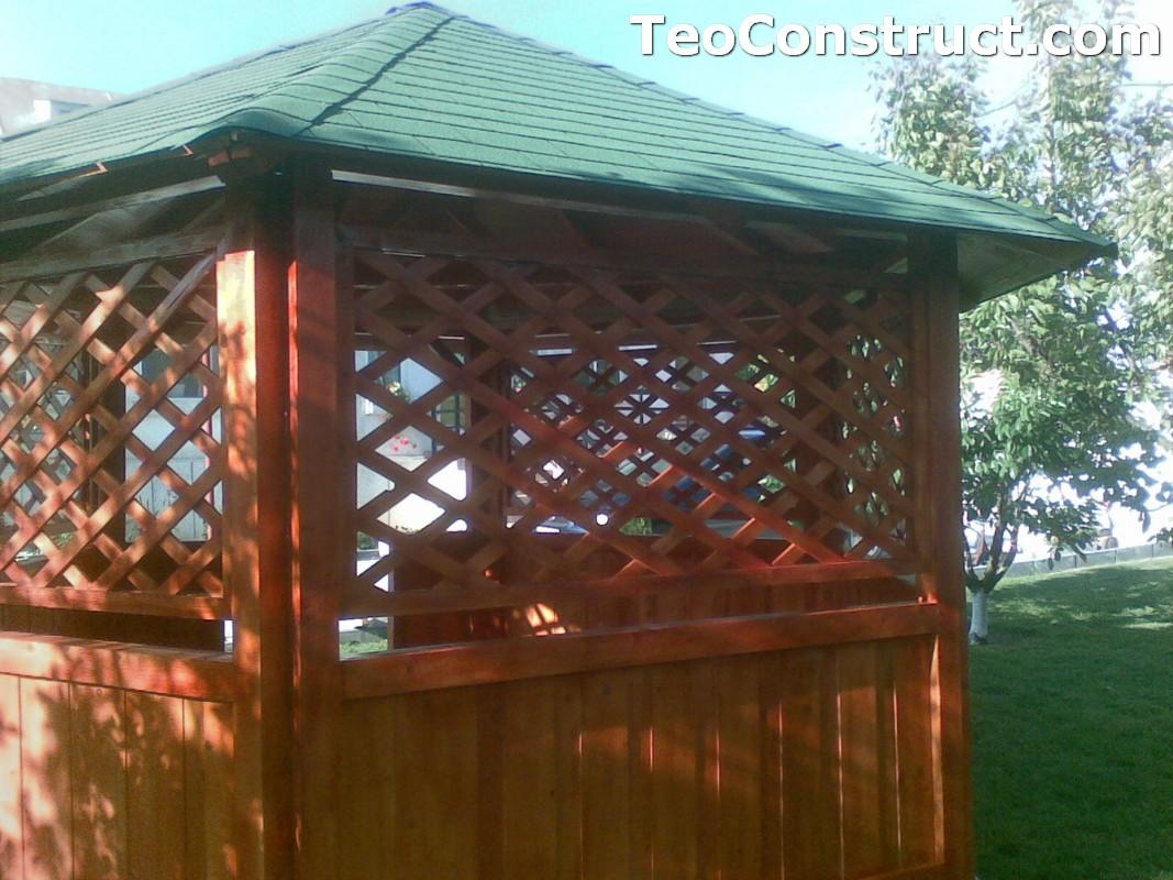Foisoare rustice din lemn Alexandria1