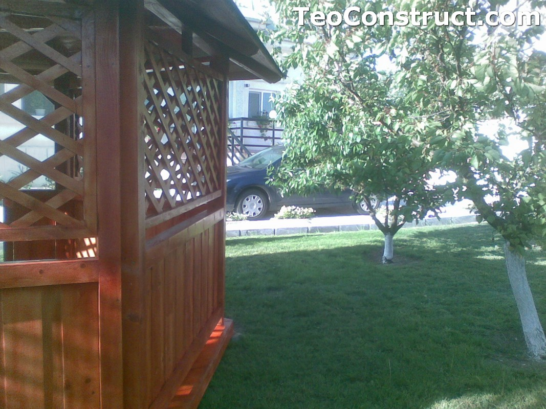 Foisoare rustice din lemn Alexandria2