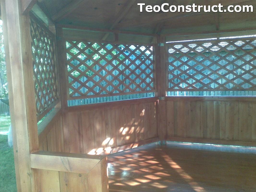 Foisoare rustice din lemn Alexandria5