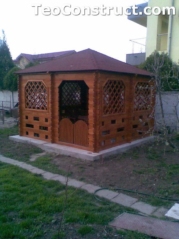 Foisoare rustice din lemn Bucuresti1