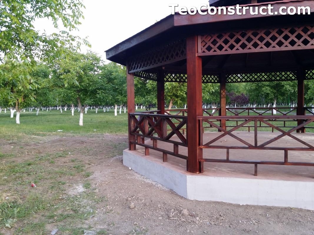 Foisoare rustice din lemn Buzau11
