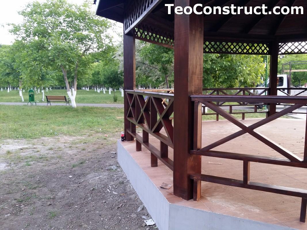 Foisoare rustice din lemn Buzau13