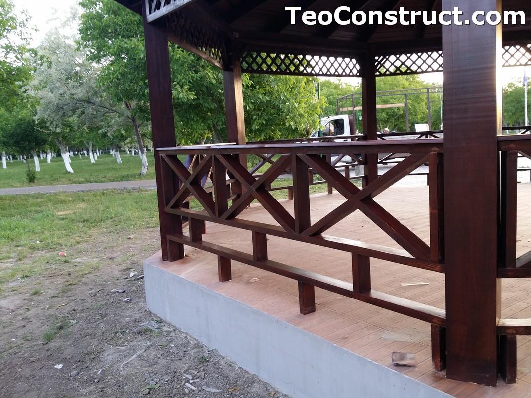 Foisoare rustice din lemn Buzau14