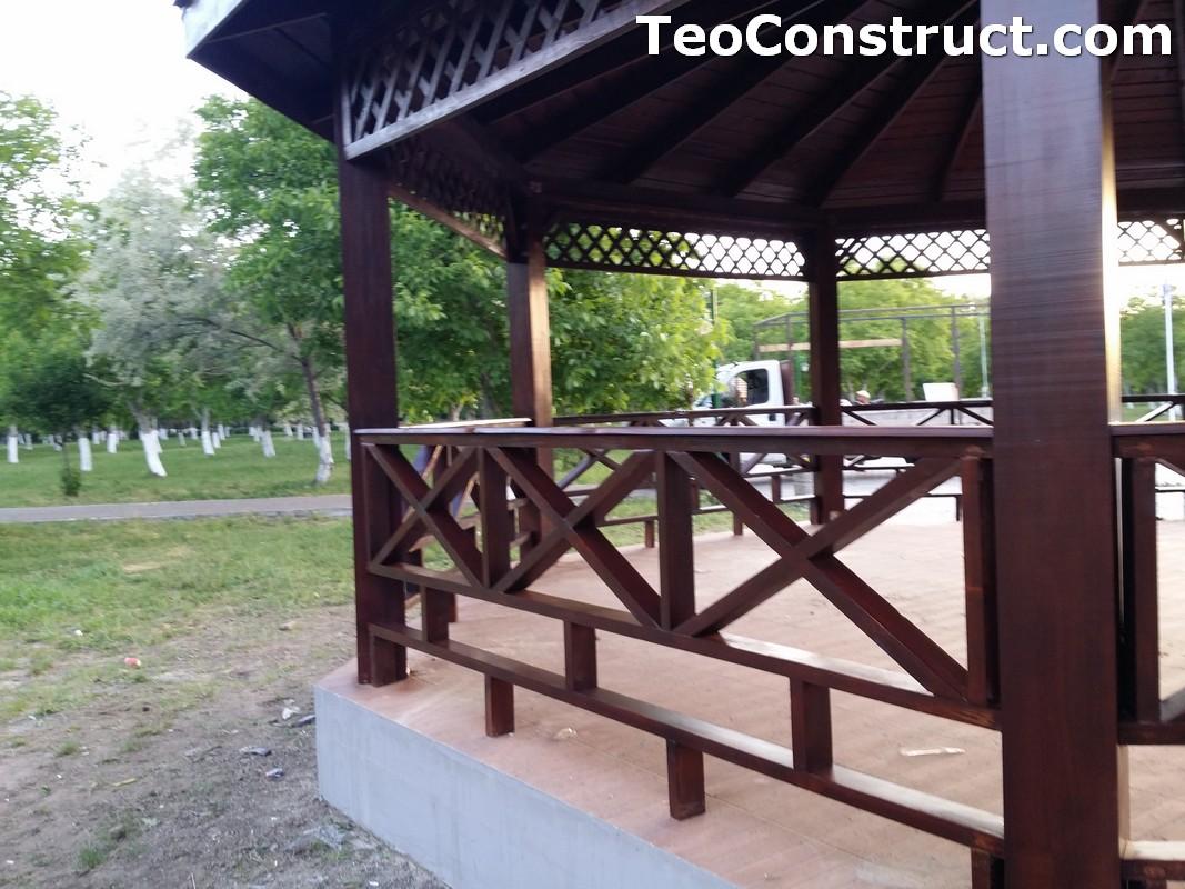 Foisoare rustice din lemn Buzau15