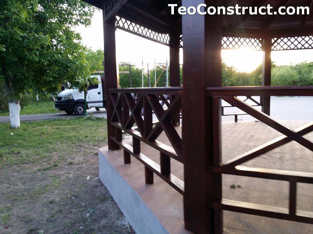 Foisoare rustice din lemn Buzau16