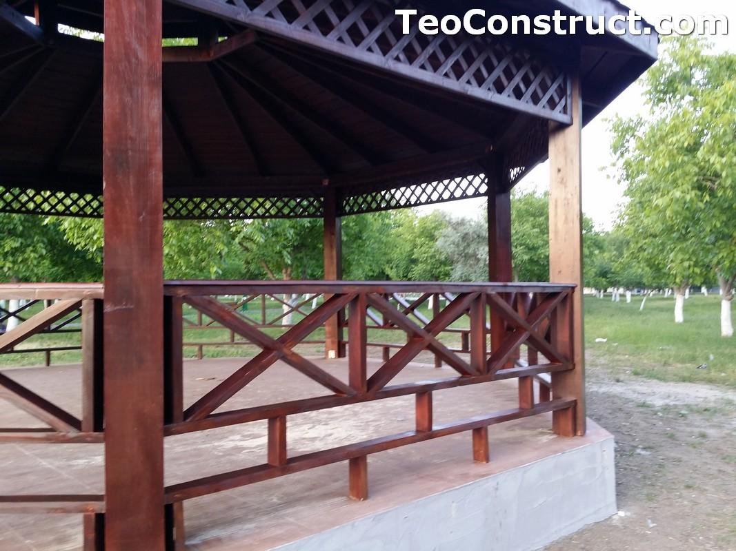 Foisoare rustice din lemn Buzau17