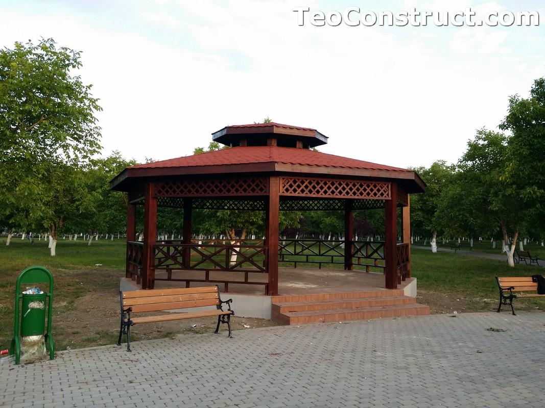 Foisoare rustice din lemn Buzau4