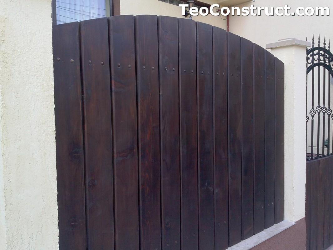 Garduri din lemn Oradea 16