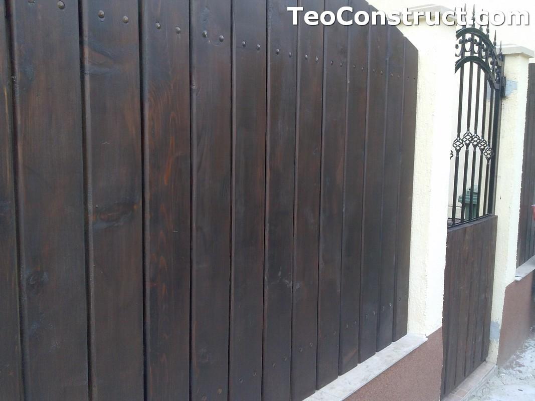 Garduri din lemn Oradea 17