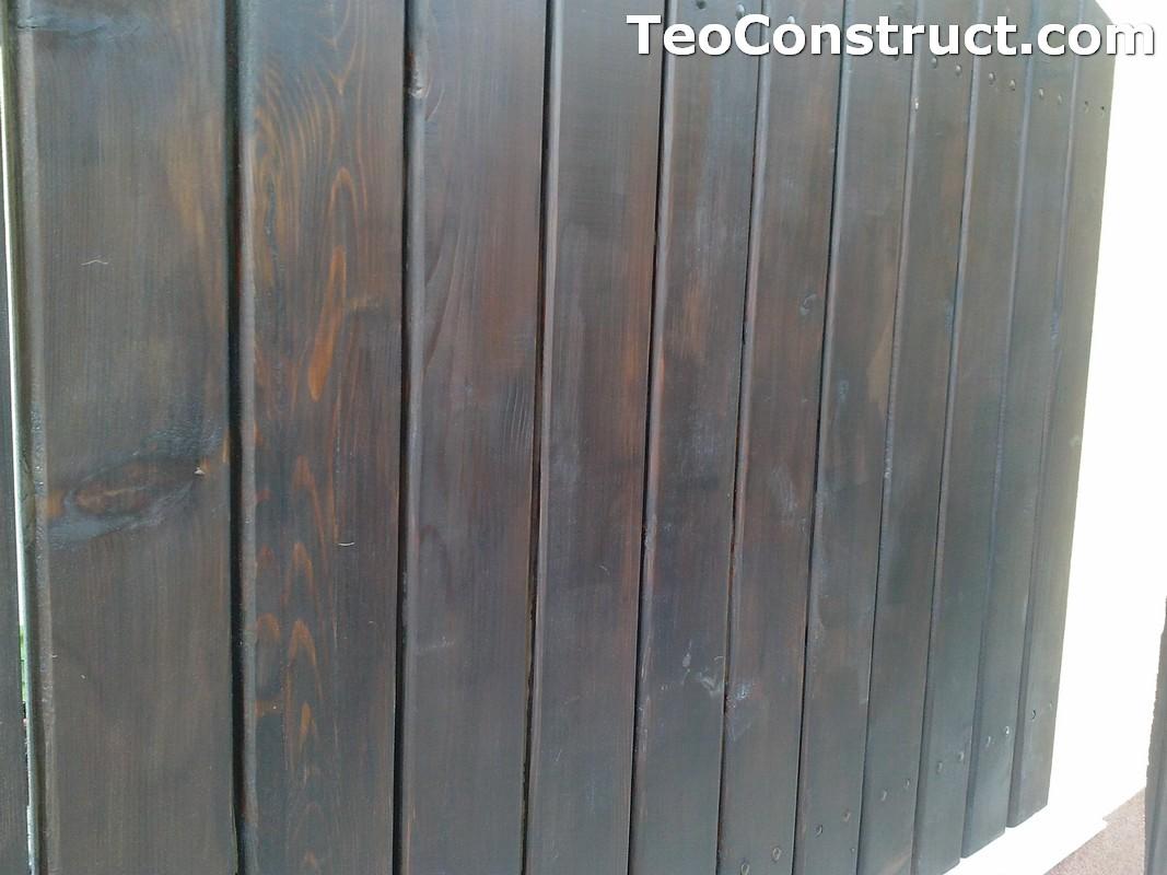 Garduri din lemn Oradea 18