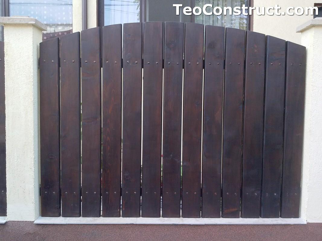 Garduri din lemn Oradea 2