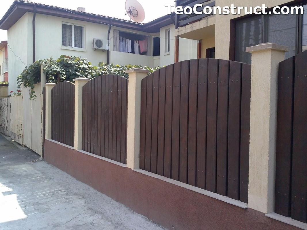 Garduri din lemn Oradea 3