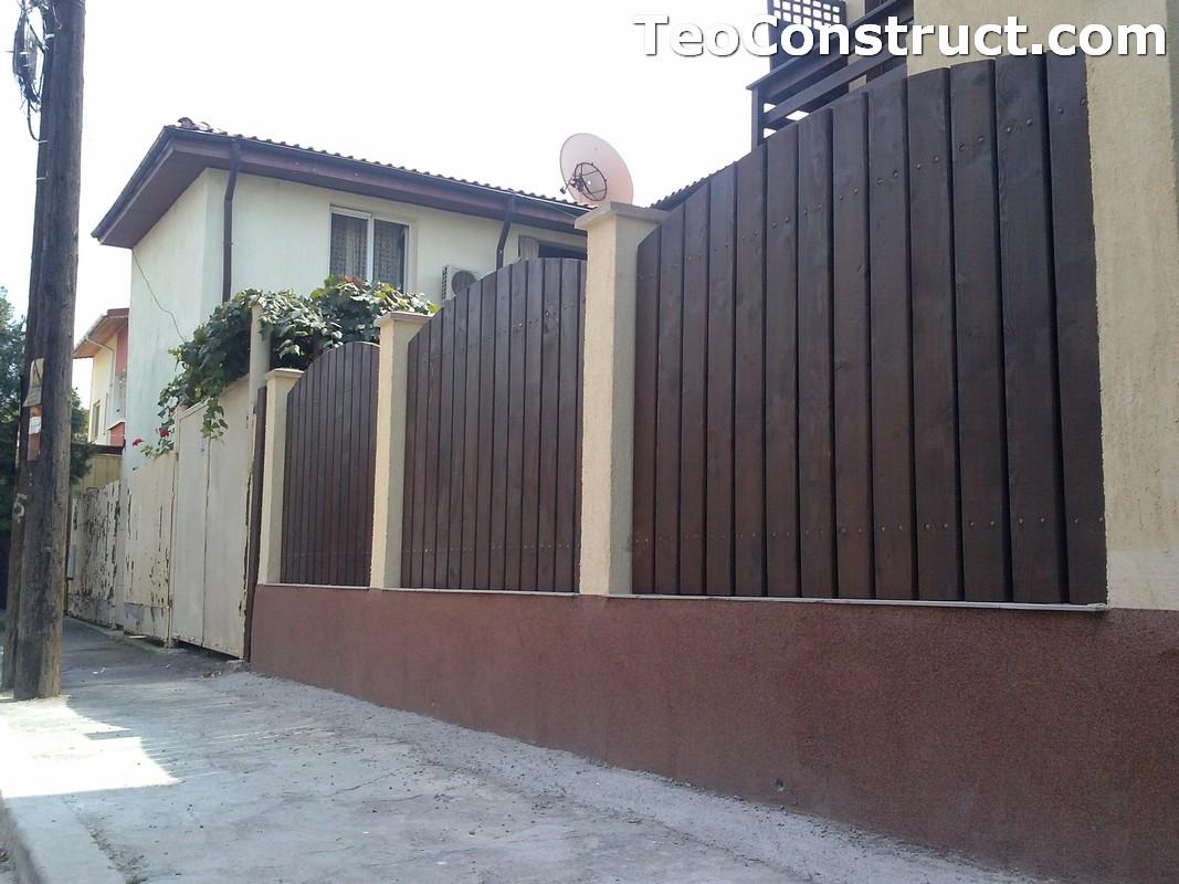 Garduri din lemn Oradea 4