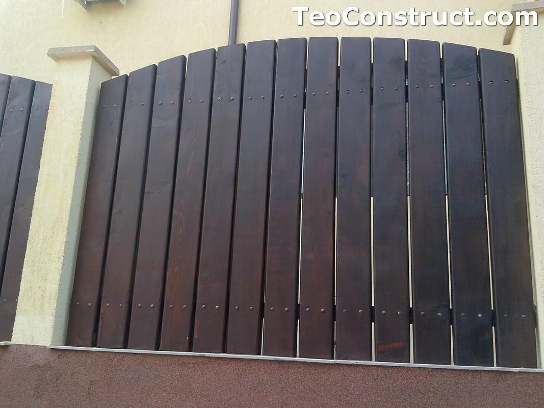 Garduri din lemn Oradea 6