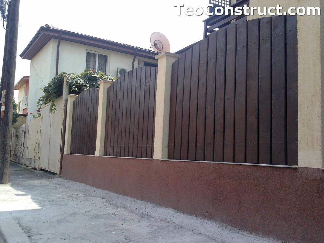 Garduri din lemn Oradea 8