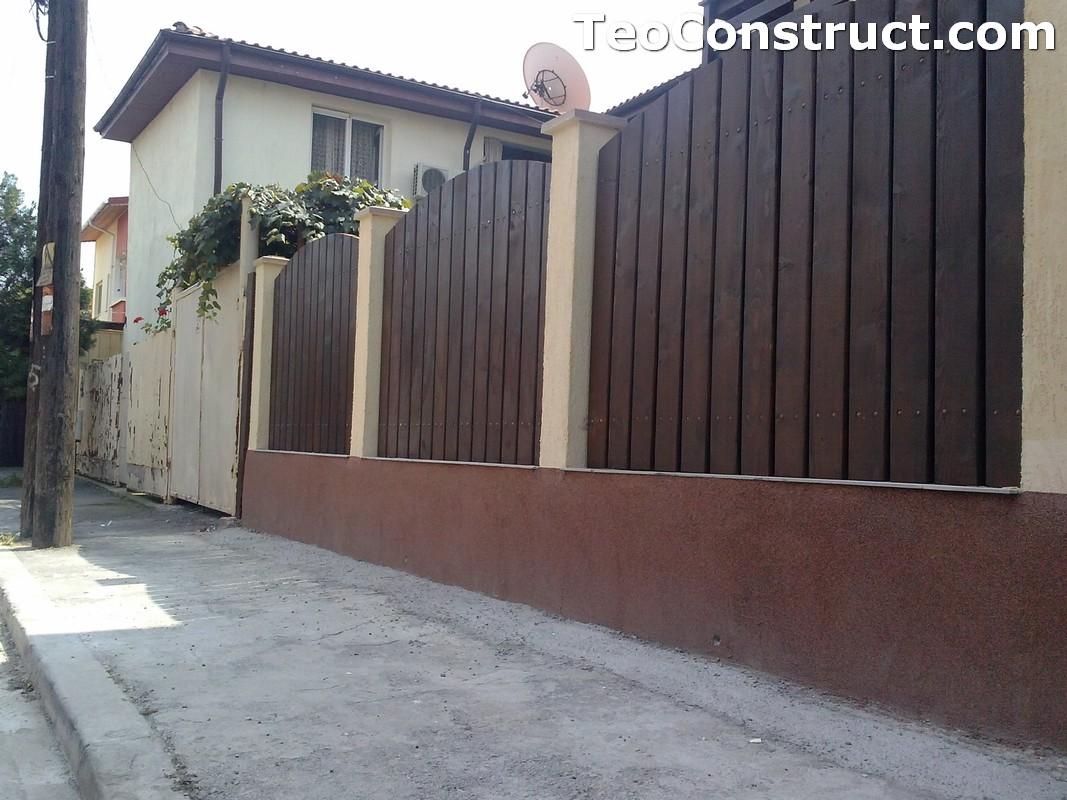 Garduri din lemn Oradea 9