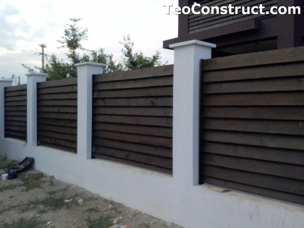 Garduri din lemn Sibiu 1