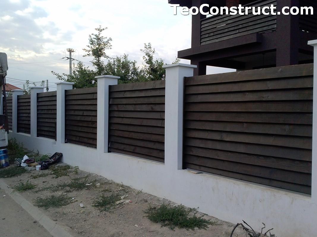 Garduri din lemn Sibiu 2