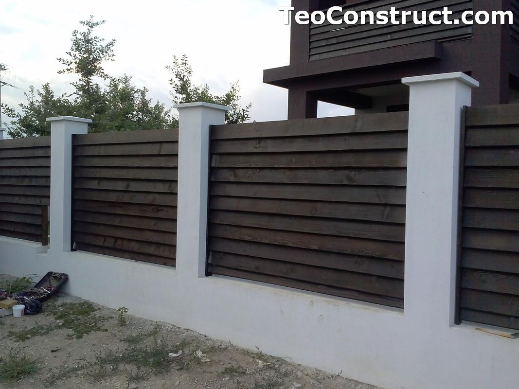 Garduri din lemn Sibiu 4