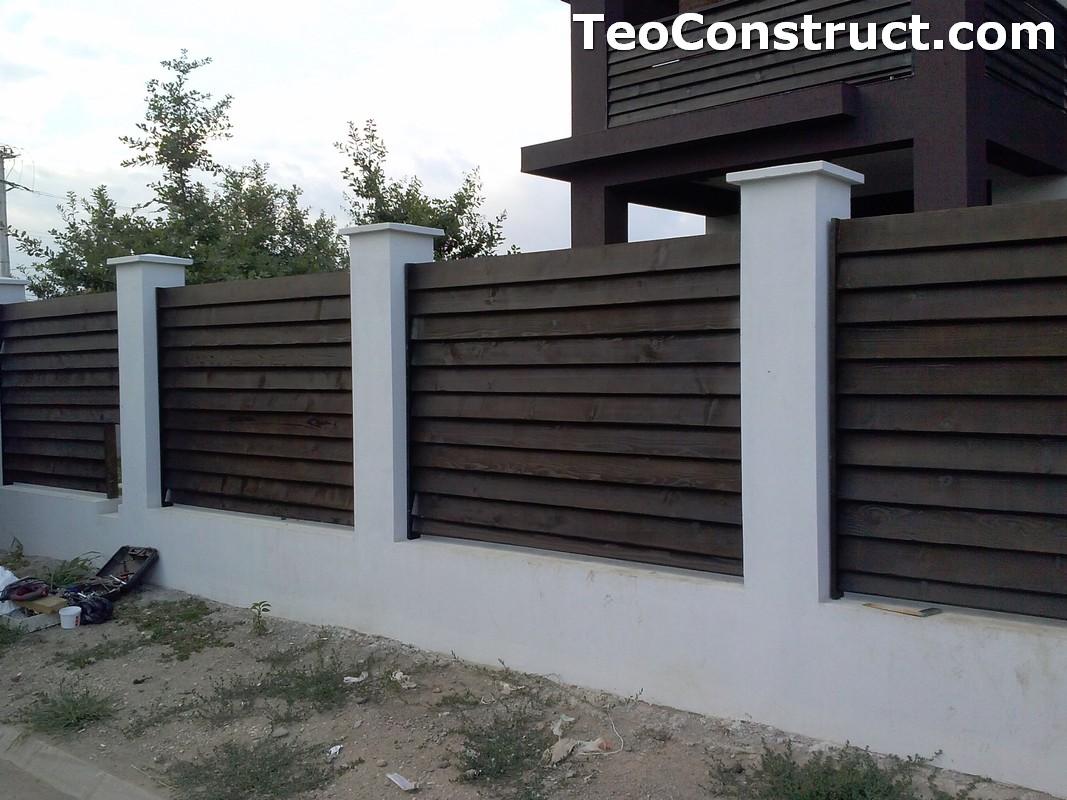 Garduri din lemn Sibiu 6