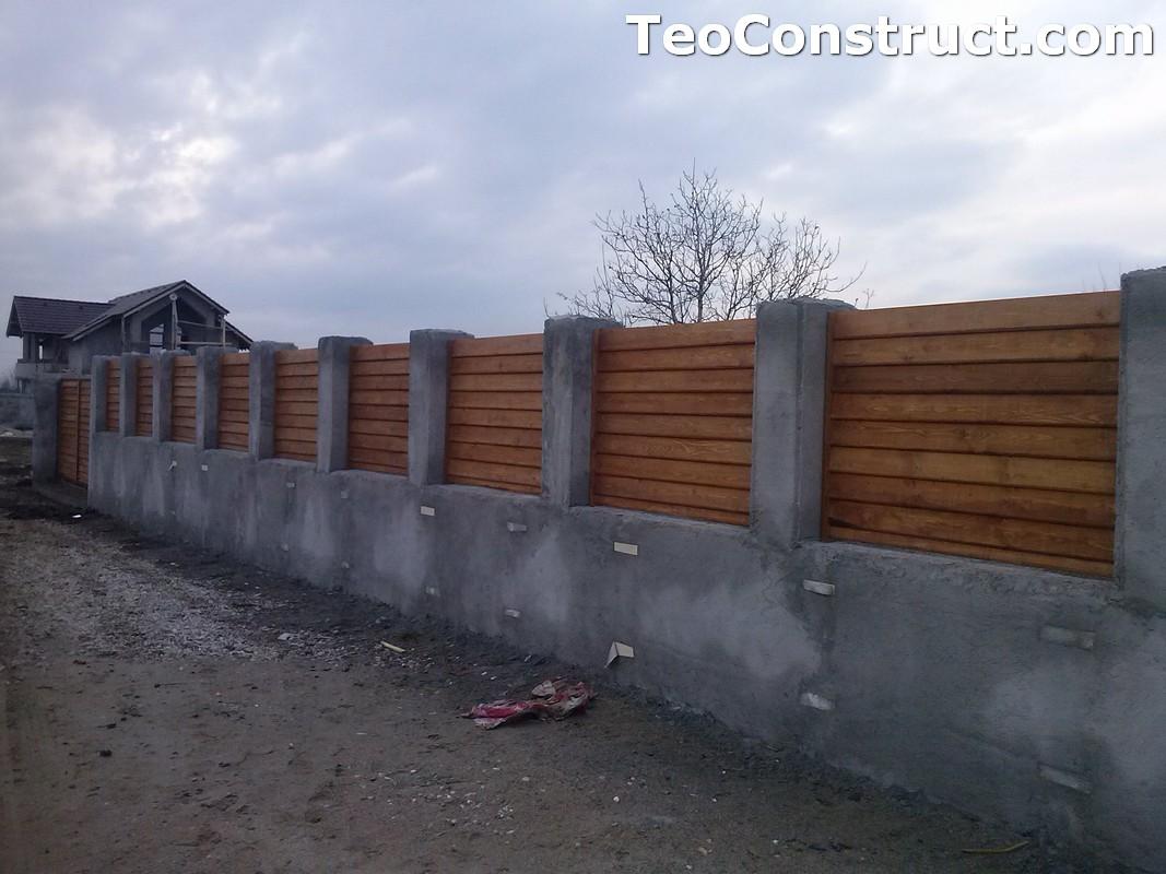 Garduri din lemn Timisoara 1