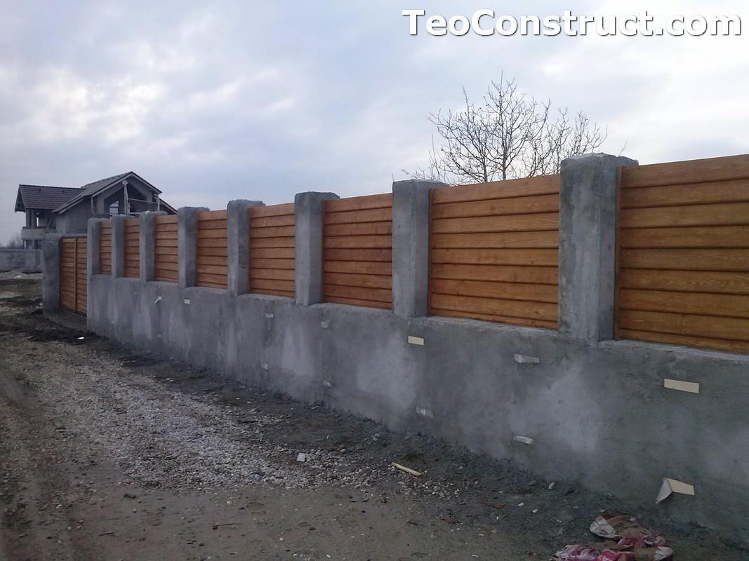 Garduri din lemn Timisoara 2
