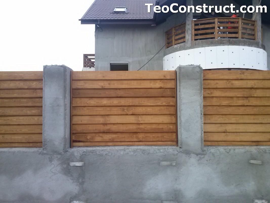 Garduri din lemn Timisoara 3