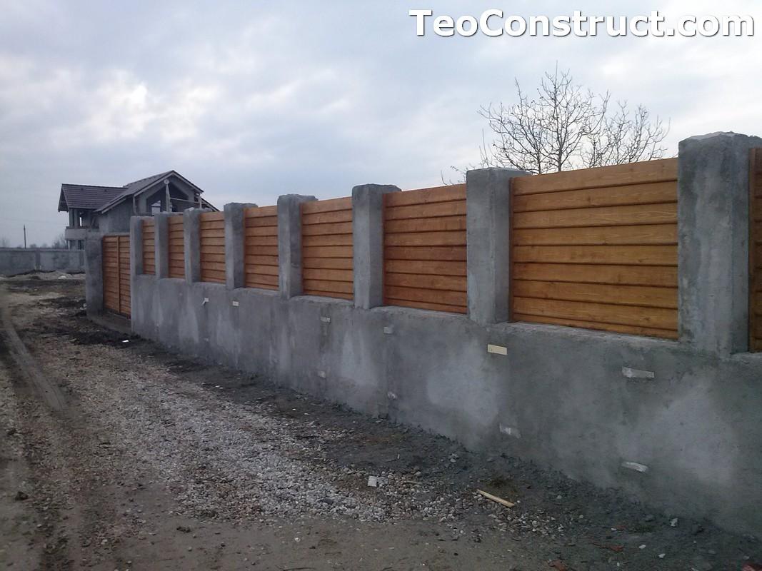 Garduri din lemn Timisoara 4