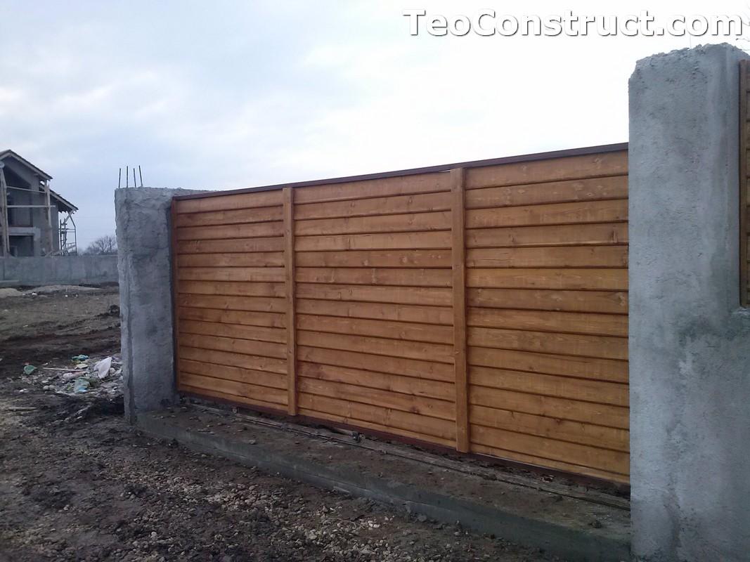 Garduri din lemn Timisoara 5
