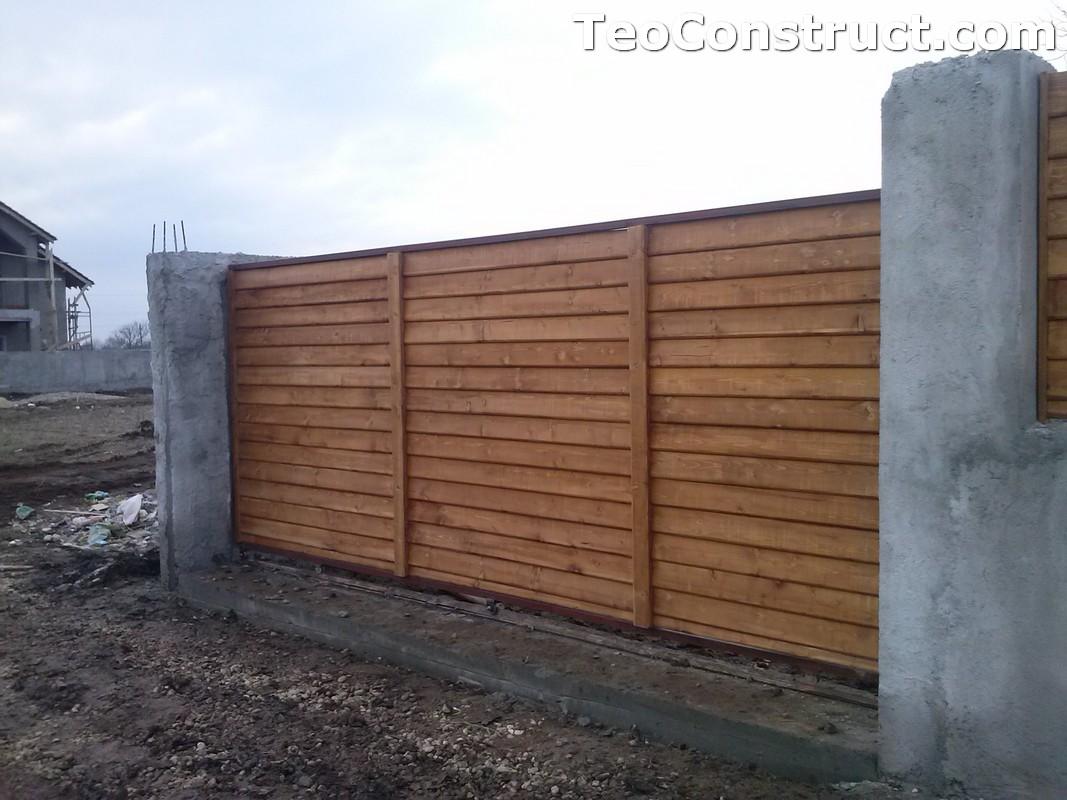 Garduri din lemn Timisoara 6