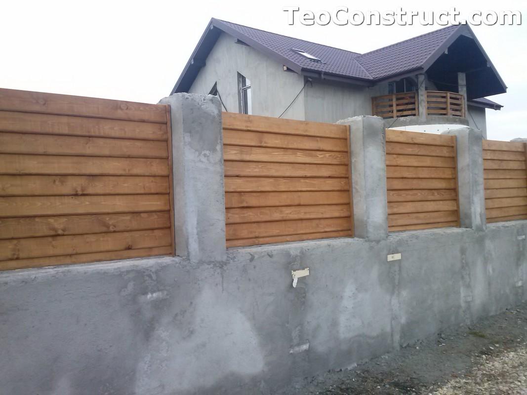 Garduri din lemn Timisoara 7
