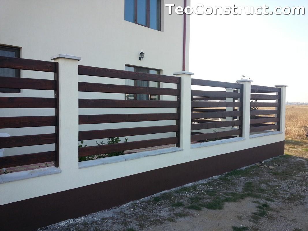 Garduri din lemn Valcea 1