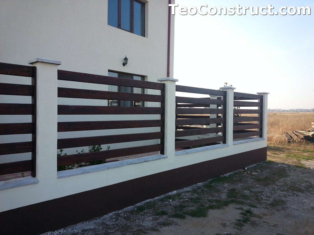 Garduri din lemn Valcea 2