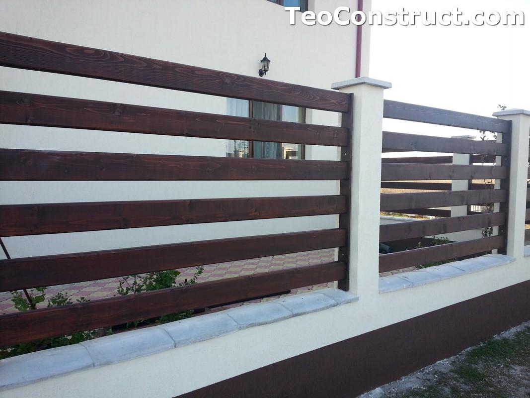 Garduri din lemn Valcea 4
