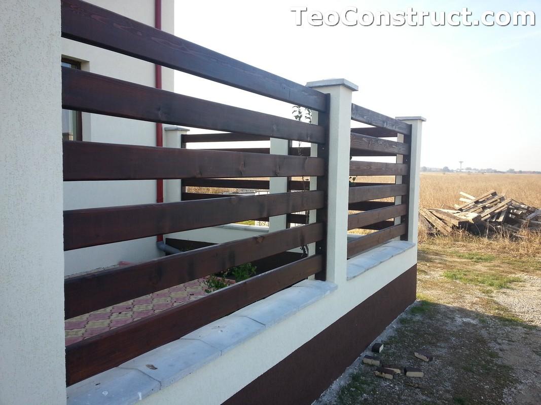 Garduri din lemn Valcea 5