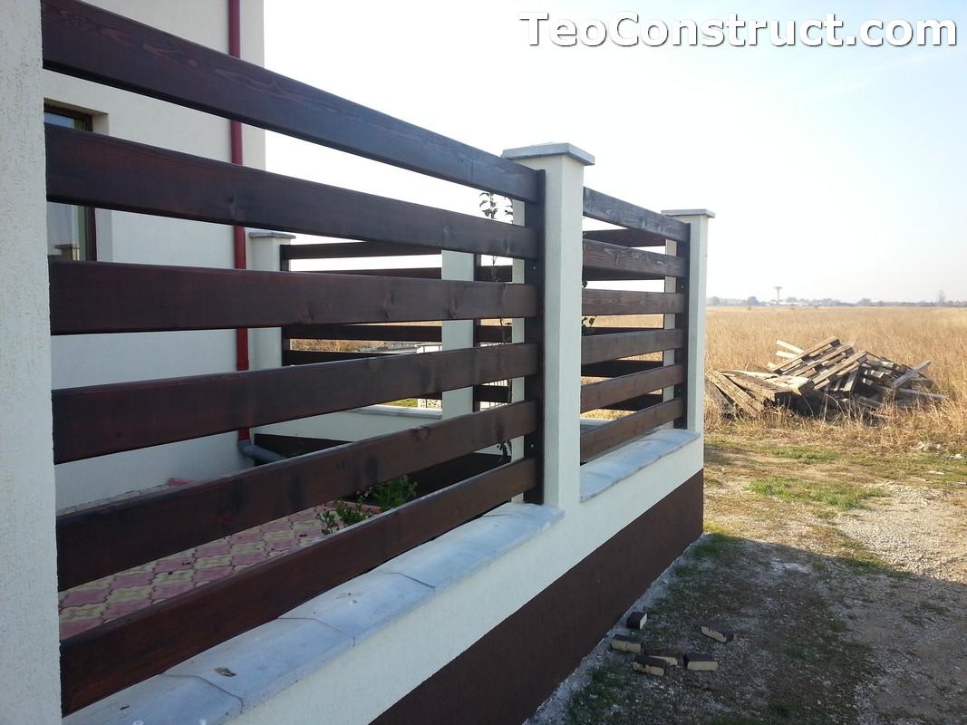 Garduri din lemn Valcea 6